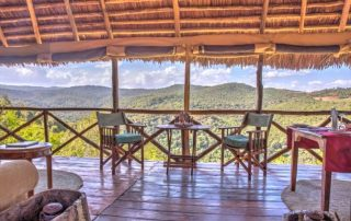 Ngorongoro Forest Lodge Restaurant With a Beautiful View