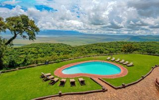 Crater View From Ngorongoro Sopa Lodge