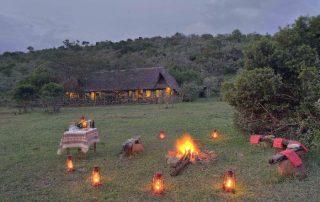 Sundowners at Saruni Mara