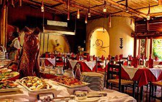 Restaurant at Amboseli Serena Safari Lodge