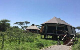 Lake Masek Tented Lodge Guest Tent Exterior