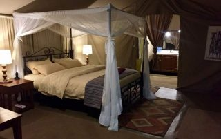 Guest Tent with King Size Bed