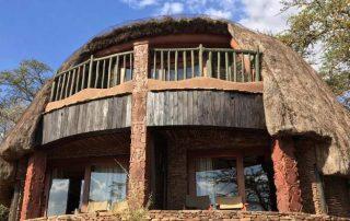Serengeti Serena Lodge Hut Front Face