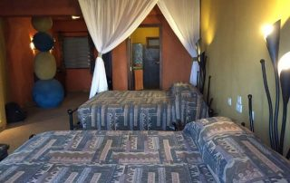 Twin Bedroom at Serengeti Sopa Lodge