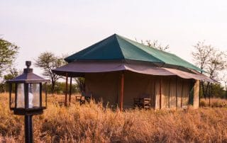 Osinon Camps and Lodges Tent Front Face