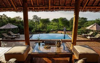 Tarangire Treetops view from inside