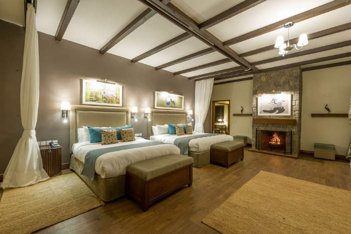 Twin Bedroom of the Lodge