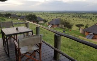 Kubu Kubu Tented Lodge Guest Balcony
